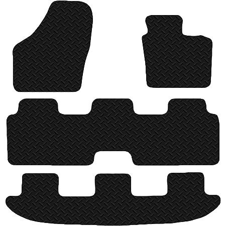 Carsio Auto Fußmatten Aus Gummi Für Vw Sharan Ab 2010 3 Mm Schwarz 4 Teiliges Set Auto