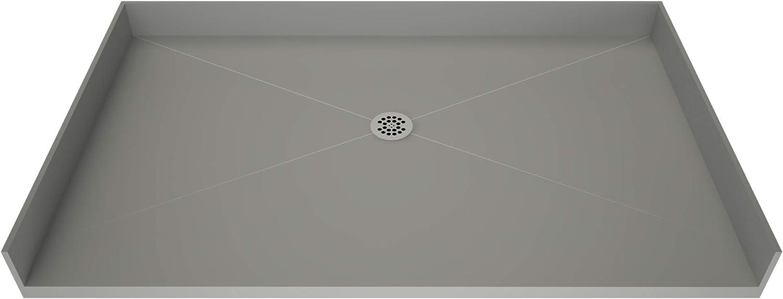 Tile Redi B3772C-BFRDPVZ Shower Pan Dr New arrival Center with Flashing Kit 2021