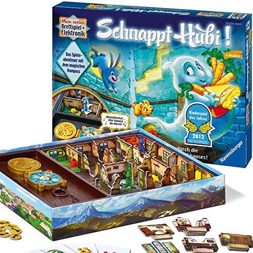 Ravensburger Schnappt Hubi, Gesellschafts- und Familienspiel, für Kinder und Erwachsene, Spiel des Jahres für 2-4 Spieler, ab 5 Jahren
