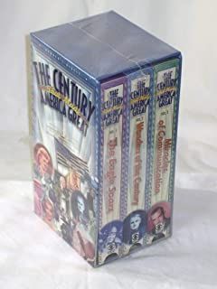 Reader's Digest The Century That Made America Great Boxed Set VHS