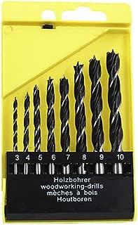 Fraises 6Pcs Set 1//4 pouce 6mm-19mm tige hexagonale 90 degr/és HSS chanfrein fraise chanfreineuse en bois