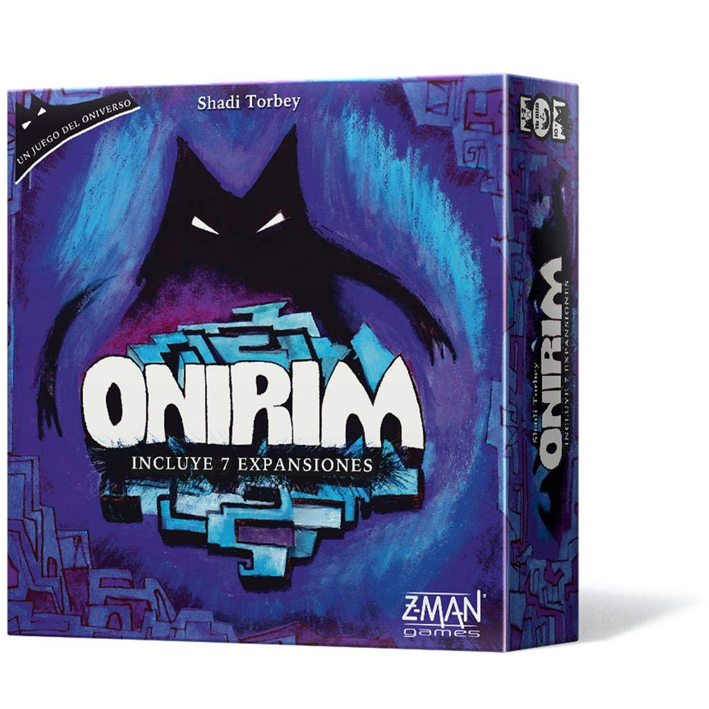Z-man Games España- Onirim, Color (ZM4900ES): Amazon.es: Juguetes y juegos