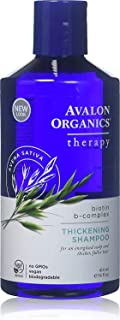 Avalon Organics - Champú Biotin B Complex (414 ml)