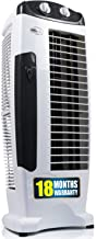 iBELL DELUXE Tower Fan with 25 Feet Air Delivery, 4 Way Air Flow, High Speed,Anti Rust Body (Black)