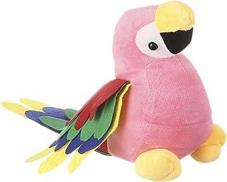 Parrot Shaped Stuffed Doll for Kids, Pink - EM10011