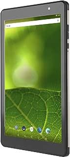 "IRA WiFi Tab | 16GB Memory | Android 6.0 Pie | 2GB RAM | 1.3 Ghz | 4000 mAh | 8"" HD Screen | 5/2 MP Back/Front Camera | USB OTG (IRA801 Black)"