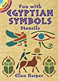 Fun With Egyptian Symbols Stencils (Dover Stencils)