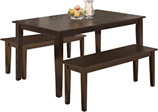Dining Table Set Dining Table Kitchen Table and Bench for...