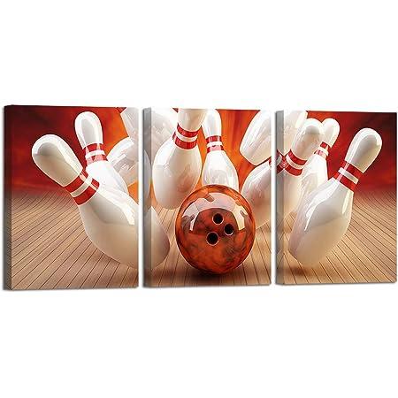 Bowling  Art//Canvas Print Home Decor Poster Wall Art