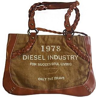 Diesel 迪塞 手提包 00BB978PR959T2184 行李箱 6 升 棕色