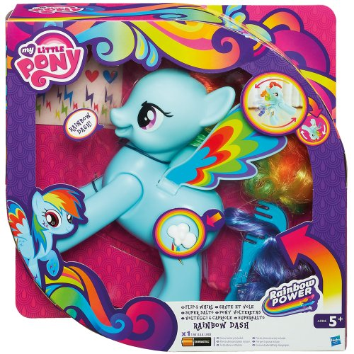 Hasbro My Little Pony MLP - Rainbow Dash Magiche Capriole