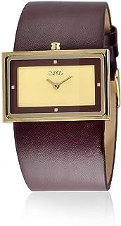 ساعة نساء من زايروس, جلد, انالوج بعقارب, 15L119F010733