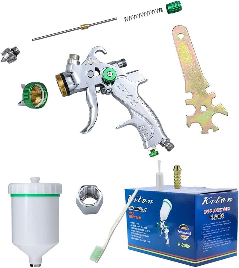 Spray Gun Paint Sprayer HVLP Air Pneumatic 600ML Gravity New arrival 55% OFF S