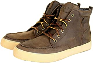Polo Ralph Lauren Men's Tedd Leather High Top Sneaker with Logo