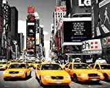 GB Eye 40 x 50 cm Times Square Yellow Cabs New York