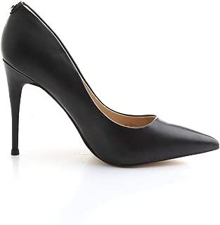 Guess Luxury Fashion Womens FL7OK6LEA08BLACK Black Pumps | Fall Winter 19