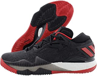 adidas Crazylight Boost Low 2016 Basketball Men's Shoes Size 7 Black/Red