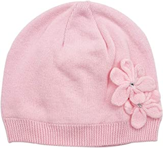 Kids Beanie Baby Infant Toddler Girls Soft Cotton Warm Knit Hat, 2-Ply