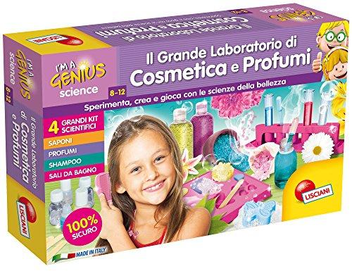 Lisciani Giochi I'm a Genius Science Il Grande Laboratorio di Cosmetica e Profumi, 56385