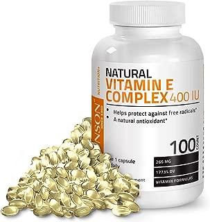 Best natural vitamin e capsules Reviews