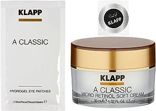 Klapp A Classic retinol soft cream + Hydrogel Eye Patches Mask