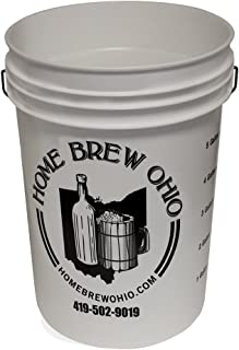 Midwest Homebrewing and Winemaking Supplies 6.5 gal Plastic Fermentor Without Lid