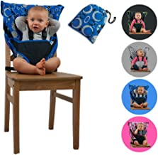 Cozy Cover Easy Seat Portable High Chair (Blue) - Quick, Easy, Convenient Cloth Travel High Chair Fits in Your Hand Bag So That You Can Have It With You Everywhere For a Happier, Safer Infant/Toddler