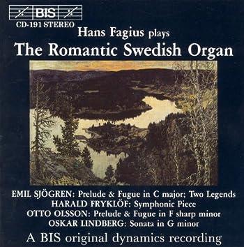 Romantic Swedish Organ Music