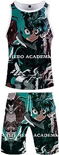 Ga-yinuo Pyjamas Set Mens T Shirt Short Sleeves Shorts Boys' Pyjama Sets Beach Shorts Sportswear Unisex Beachwear 3D Anime...