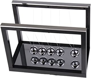 Baosity Newtons Cradle Steel Balance Balls Desk Science Educational Deck Toy Gifts