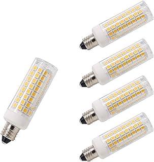 130 Volt Clear 2,000 Life Hours Mini Candelabra Base 1,600 Lumens JD Hikari JD7011-100 Watt Halogen Light Bulb