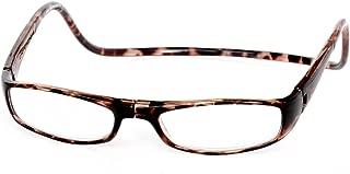 Clic Magnetic Euro Reading Glasses in Dark Tortoise