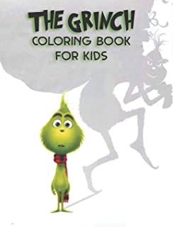 The Grinch coloring book for kids: Perfect christmas gift with +40 design and high quality paper for The JAMAL lovers grea...