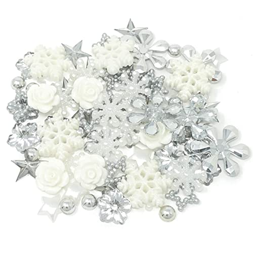 SET 2 BEAUTIFUL METAL CHARM EMBELLISHMENTS FOR CARDS /& CRAFTS