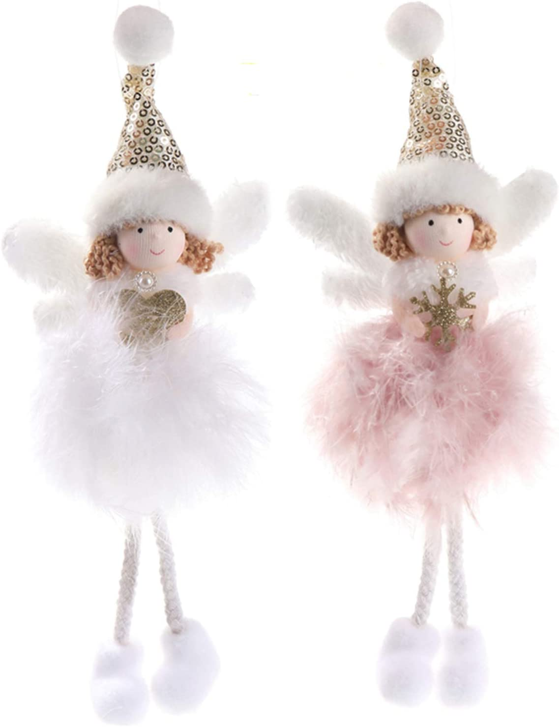 PGYFIS Houston Mall Feather Attention brand Angel Ornaments Ch Creative Decorations Christmas