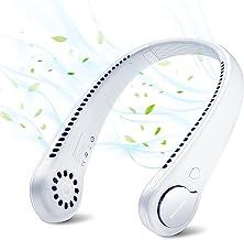 SmartDevil Portable Neck Fan, Hands Free Bladeless Neck Fan, Rechargeable Battery Operated Wearable Personal Fan, 360° Coo...