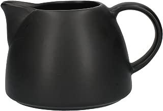 La Cafetière Barcelona Collection 380ml / 13.4 fl oz Ceramic Milk Jug – Matte Black