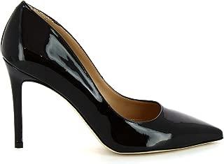 LEONARDO SHOES Luxury Fashion Womens 5002BLACK Black Pumps | Season Permanent