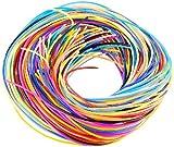 Playtastic Scoubidou Bänder: Scoubidou Bastelset mit 96 Knüpfbändern in 10 Farben (Bastelset mit...