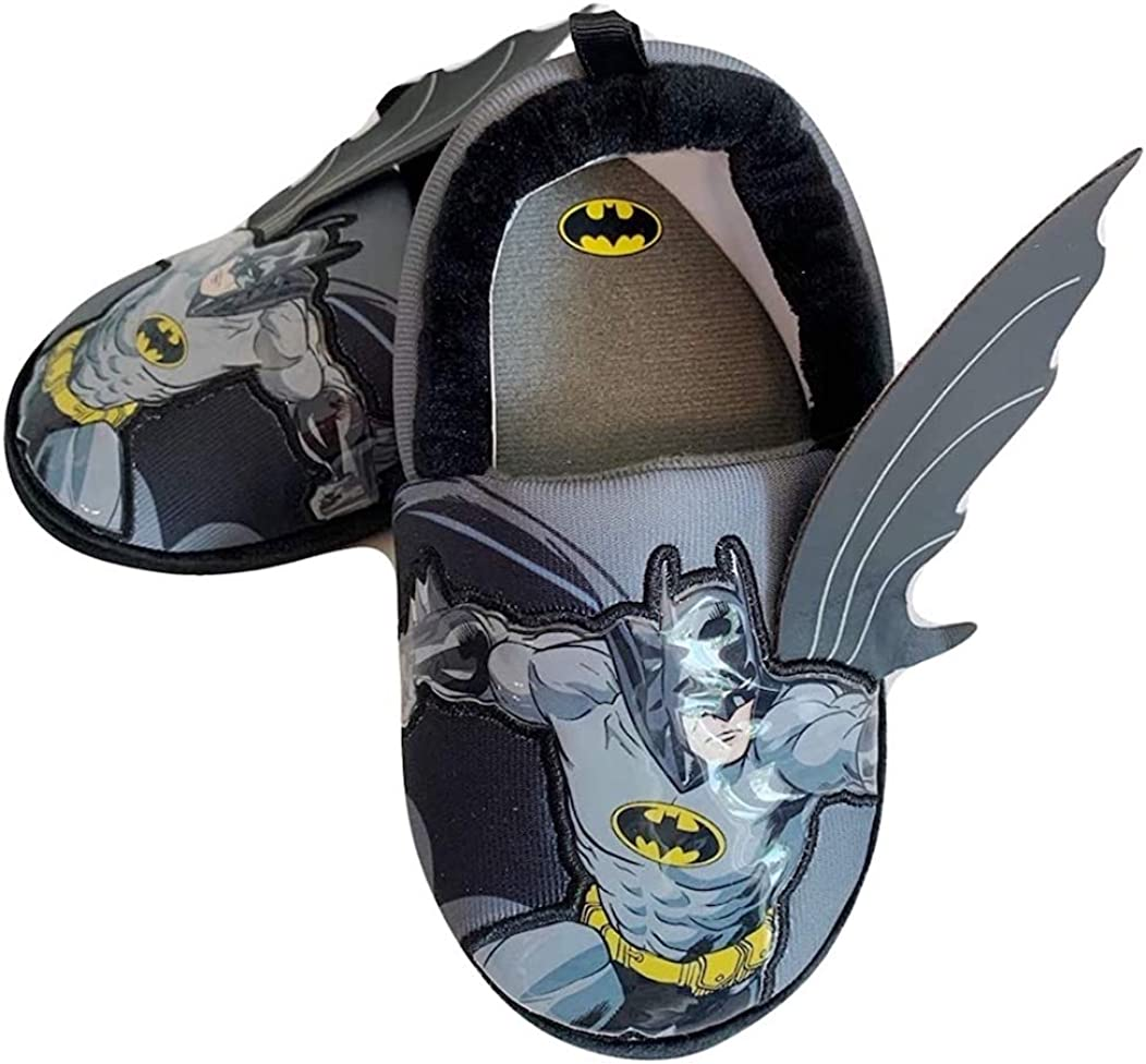 BBC International Toddler Boys Batman Logo Slippers