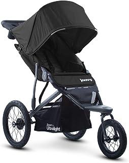 Joovy Zoom 360 Ultralight Jogging Stroller, Large Canopy, Lightweight Jogger, Extra Large Air Filled Tires, Black