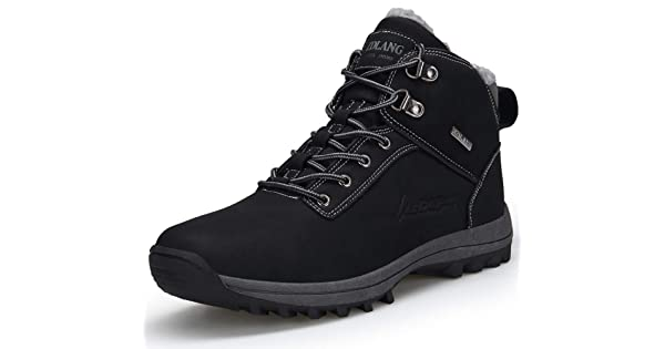 TSIODFO Waterproof Hiking Boots for Women Suede Ankle Boot Outdoor Climbing Trekking Walking Sneakers Winter Hiking Shoes