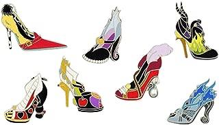 Villains High Heel Shoes Booster 7 Pin Set