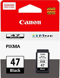 Canon Ink Cartridge Black (PG-47 ) Compatible with Canon E400