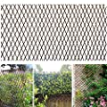 Melchef Nature Willow Expandable Plant Climbing Lattices Trellis Fence Expanding Fence Support 36x92 Inch