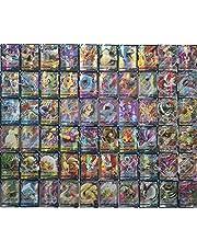 Carte Pokemon GX,Pokemon Carte Compris 44pcs Basic GX Tagteam 20pcs GX Stage1 12pcs GX Stage2 24Pcs Basic GX Pokemon Card