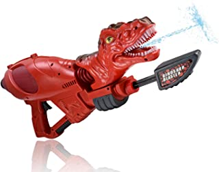 WolVol Large Dinosaur Toy Water Gun - Well-Made Plastic T-Rex Water Blaster - Powerful & Easy to Carry for Boys & Girls