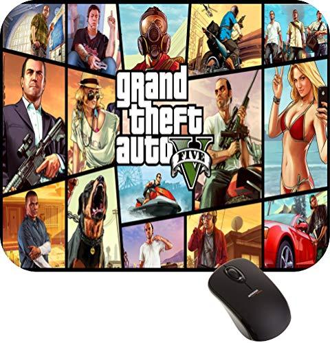 Mouse Pad Gta V Grand Theft Auto Gamer FRETE GRÁTIS