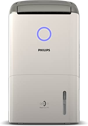Philips Series 5000 2-in-1 Air Dehumidifier and Air Purifier with Numerical Display & Purifier Only Mode, White, DE5205/70
