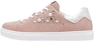 Nero Giardini P907573D Sneakers Donna in Pelle E Camoscio